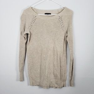 AEO Scoop Neck Knit Long Sleeve Sweater